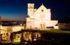 Julestemning i Assisi i Italien.