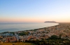 Solnedgang over Terracina.