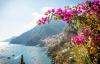 Udsigt til Amalfikysten og Positano.
