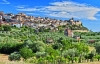 Vinmarker og Chianciano Terme.