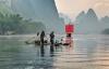 Fiskere på Yangtze.