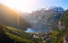 Geirangerfjorden i Norge.