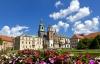 Wawel-slottet i Krakow.