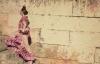 Flamencodanserinde i Andalusien.