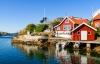 Øen Tjorn i den svenske skærgård.