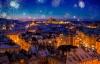 Fyrværkeri over Prag.