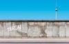 Berlinmuren og fjernsynstårnet.