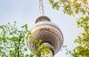 Tv-tårnet i Berlin.