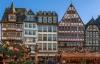 Bindingsværk og julemarked i Frankfurt.