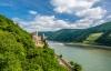 Rheinstein-borgen ved Rhinen.