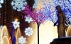 Julelys på Plaza Catalunya - Barcelona julemarked
