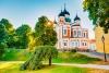 Den smukke Aleksander Nevsky katedral.