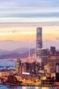 Aftenlys over Hong Kong.
