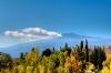 Taormina med vulkanen Etna i baggrunden.