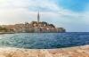 Rovinj der også kaldes Kroatiens Venedig.