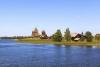 Øen Kizhi i Rusland.