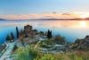 Sankt Naum klosteret ved Ohridsøen.