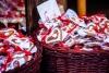 Julekager på market i Barlinek.