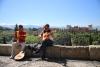 Musikere foran Alhambra.