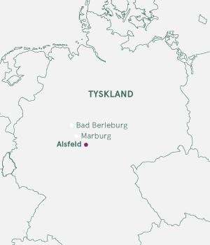 Kort - Alsfeld og Bad Berleburg Jul 2019