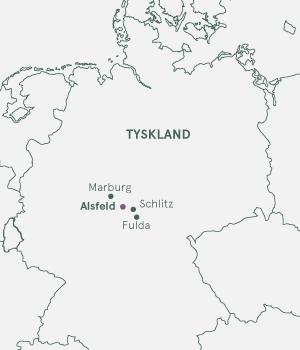 Kort - Alsfeld Julemarked - 2021