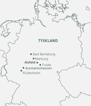 Kort - Alsfeld & Rhinen