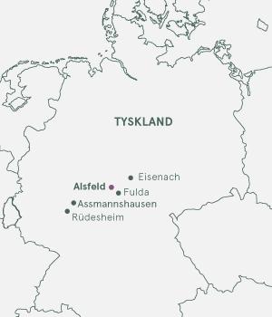 Kort - Alsfeld & Rhinen - Sommer 2022