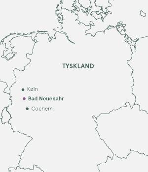 Kort - Bad Neuenahr og Ahrdalen - Sommer 2019