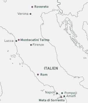 Bella Italia - Langtidsrejse med bus og fly - Vinter 2020-2021
