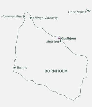 Rutekort - Bornholm - Sommer 2019