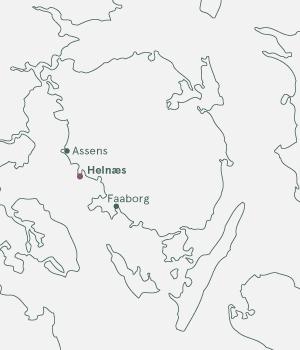 Kort over Fyn - Herregårdsferie på Fyn