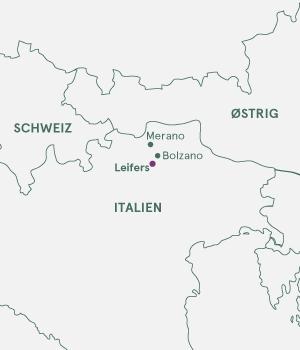 Kort - Dolomitterne - De Italienske Alper