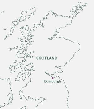 Kort - Edinburgh - Julemarked 2019