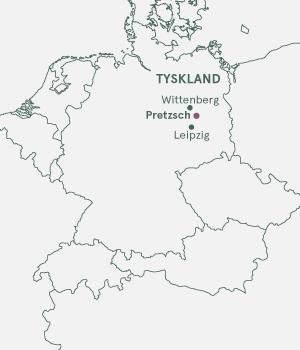 Kort - Elben og Pretzsch - julemarked - 2019