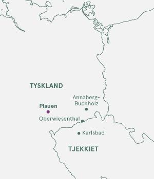 Kort over Eventyrlige Sachsen