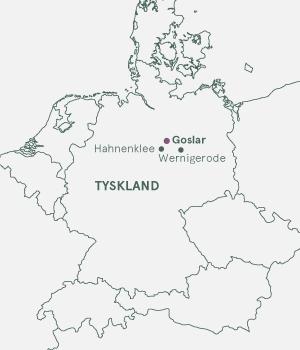 Kort - Goslar · Julemarked