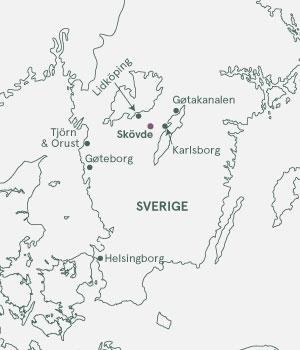 Kort - Gøtakanalen og skærgården - Sommer 2020 og 2021
