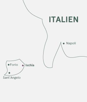 Kort - Ischia - Sommer 2019