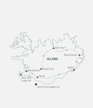 Rutekort - På opdagelse i Island - S19