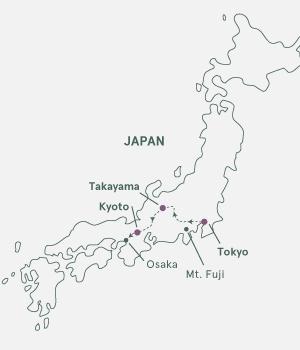 Kort - Japan i blomst - Vinter 2019-2020