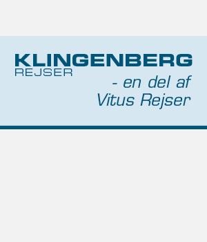 Klingenberg Rejser - en del af Vitus Rejser - program