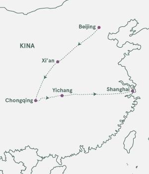 Kort - På opdagelse i Kina - Sommer 2020