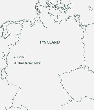 Kort - Bad Neunar & Ahrdalen · Julemarked