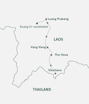 Kort - Laos - Vinter 2020-2021