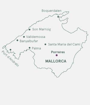 Rutekort - Mallorca - Vin og Vandring
