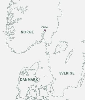 Kort til Opera i Oslo