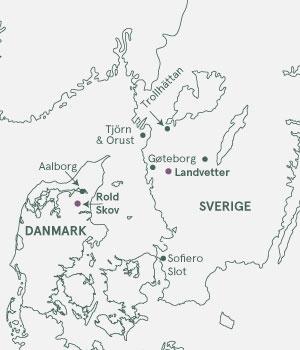 Kort - Rundt om Kattegat