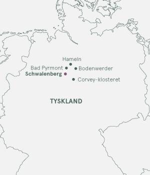 Kort - Schwalenberg - Weserbergland - Sommer 2020