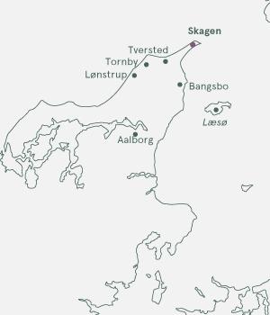 Kort - Skagen - Sommer 2020