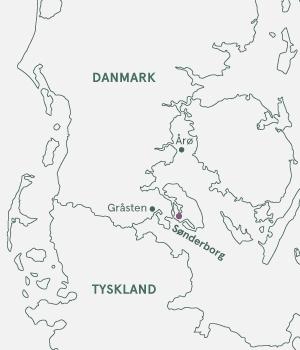 Kort - Sønderborg for krop og sjæl - Sommer 2021